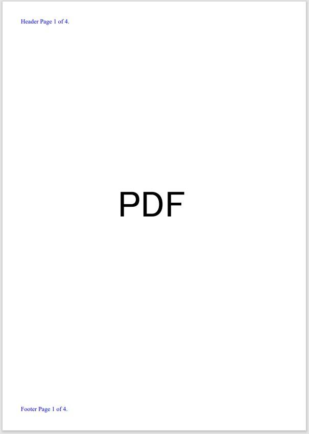 ページ番号編集PDF